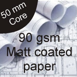 90gsm-Matt Paper-914mm