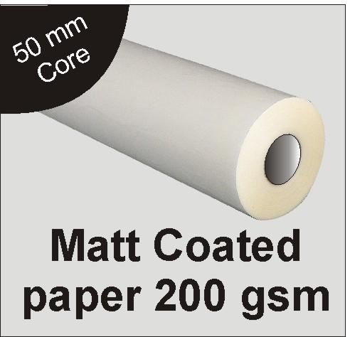 200gsm-Matt Paper-610mm