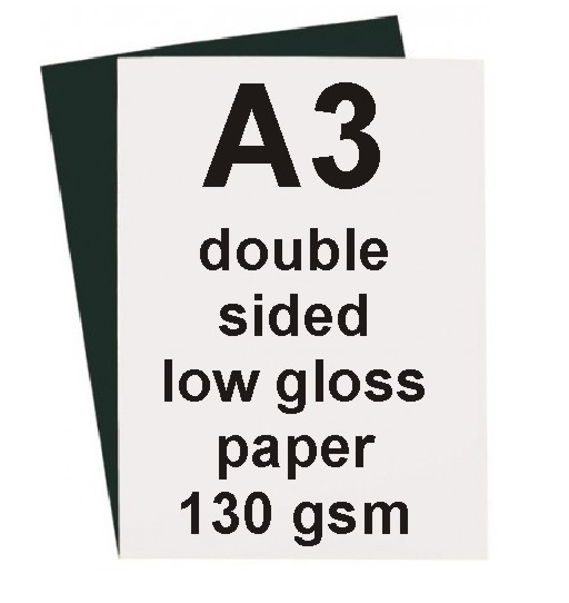 A4 Low Gloss Double Sided Laser Paper