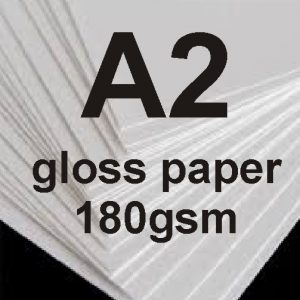 A2 Glossy Photo Paper 180gsm x20