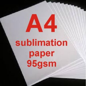 A4 Dye Sublimation Paper 95g