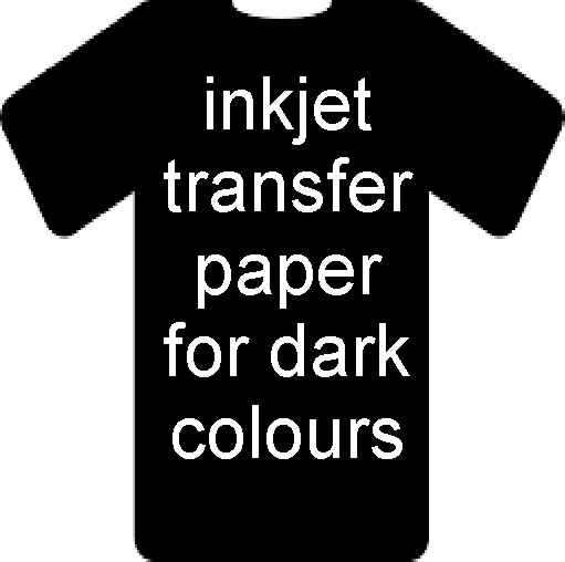 A3 Inkjet Heat Transfer Paper for dark coloured textiles - Inkjet printing