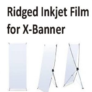 X-Banner Ridged Matt Film 380gsm-914mm
