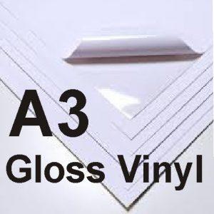A3 Gloss Adhesive Vinyl
