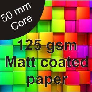 125gsm-Matt Paper-610mm
