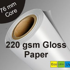 solvent-gloss-paper