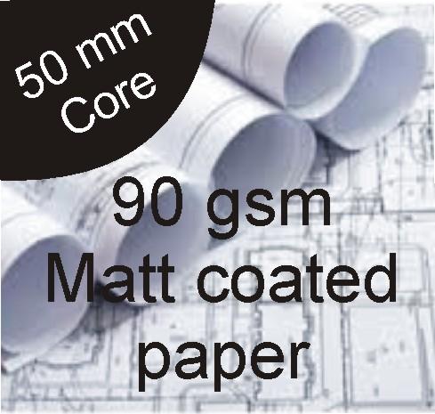 Inkjet-Matt-Paper-90gsm-914mm