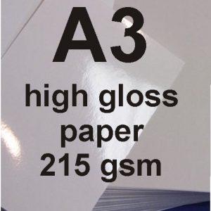 A3 High Gloss Paper